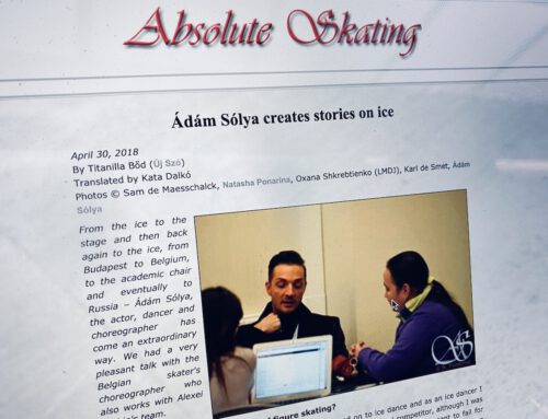 Absoluteskating.com: Ádám Sólya creates stories on ice